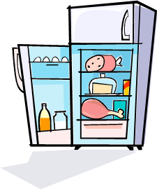 Quickie of the Day: Clean out old condiments in fridge ...